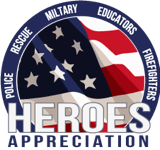 Heroes Appreciation Discount Badge
