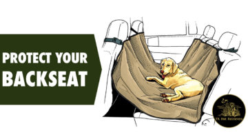 Protect your backseat during hunting season.